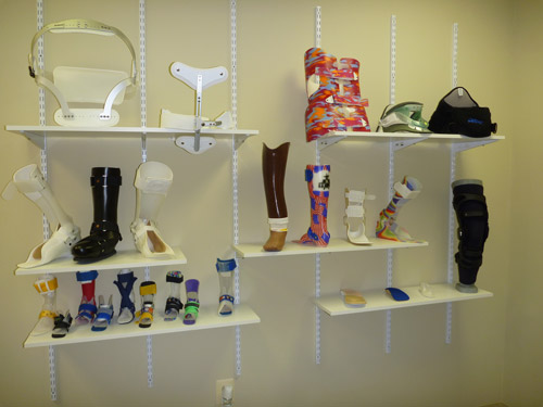 Product Display at Firstcare Othopaedics of Warrenton, VA